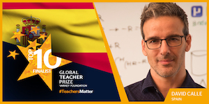 Premio Global Teacher David Calle